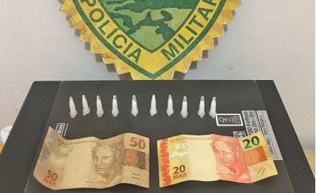 PM apreende menor com cocaína