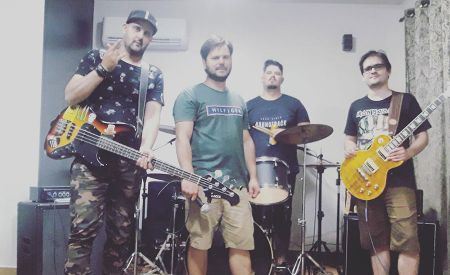 Show de banda ivaiporãense na Central do Rock será dia 24 de abril